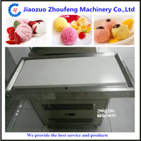 Cold stone ice cream roll maker frozen yogurt ice making machine for fried icecream