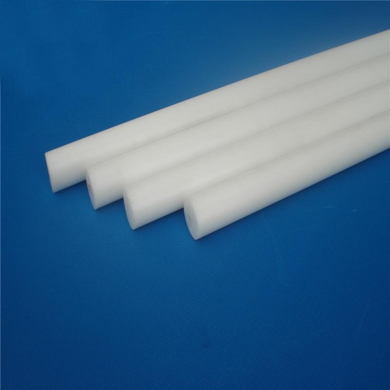 Ochoos 6mm Dia Pure Nylon bar PA66 1010 Wear-Resisting rods,2pcs//lot