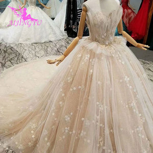 Image 5 - AIJINGYU Plus Size Boho Wedding Dresses Jumpsuit Gown engagement Pleats Weddimg Bridal Designers Gowns Dubai Wedding Dress