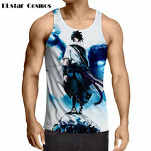 Anime Uzumaki Naruto Men Women Hipster 3d Vest  Classic Teen Tank Top