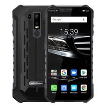 Ulefone Armor 6E IP68 Rugged shockproof Mobile Phone Android 9.0 6.2 4G+64G cell phone NFC phones Wireless Charge 4G Smartphone