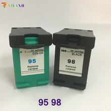 2 PK For HP 98 95 XL Ink Cartridge Deskjet 5940xi Photosmart C4100 2570