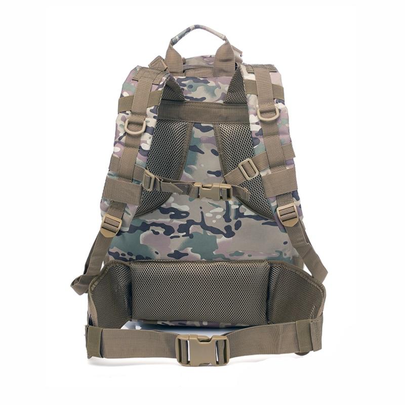 Sac à dos militaire tactique Molle Camouflage sac à bandoulière Camp voyage sacs en plein air - 2