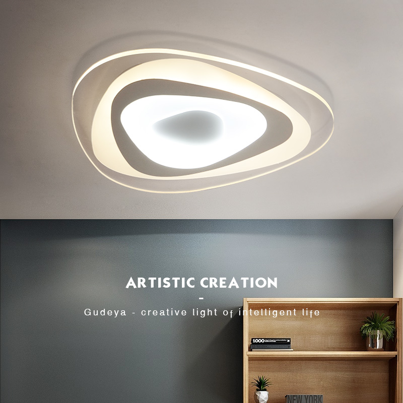 New arrived Modern Ceiling Lights For Living Room Bedroom Hallway Home Ceiling lamp Acrylic luminarias para