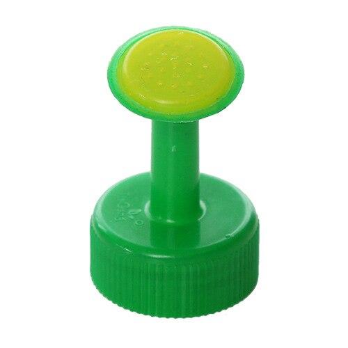 1 шт., портативная пластиковая маленькая насадка для бутылки с водой, сменный распылитель, бытовой полив, цветы, суккуленты, садовые инструменты - Цвет: Зеленый