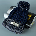 Mulheres Novo Design Tampas Mulheres Chapéu de Inverno Malha Camisola Moda beanie Chapéus Para As Mulheres 4 cores gorros