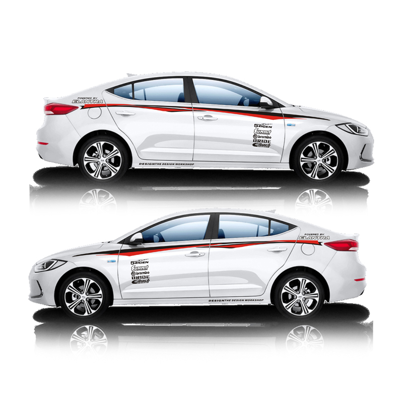 TAIYAO car styling sport car sticker For Hyundai SPORT ELANTRA Mark Levinson car accessories and decals