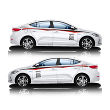 TAIYAO car styling sport car sticker For Hyundai  SPORT ELANTRA  Mark Levinson car accessories and decals auto sticker taiyao car styling sport car sticker car accessories for peugeot 308s mark levinson car accessories and decals auto sticker