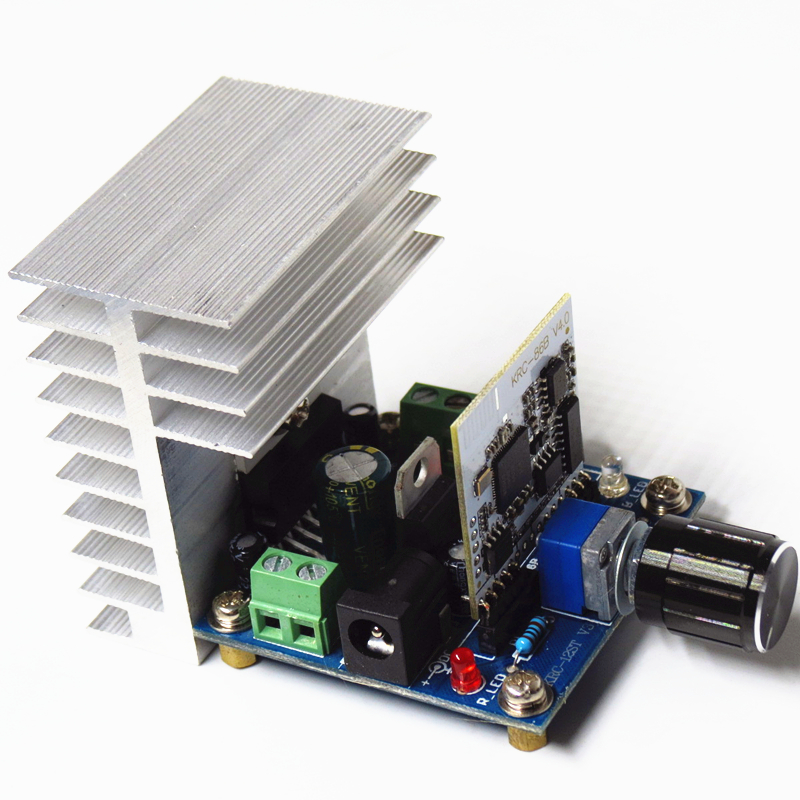 TDA7379BTB Intelligent Home amplificateur bluetooth Car bluetooth amp Audio Receiver hi-fi stereo bluetooth amplifier board title=