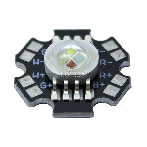Image 5 - 50pcs/lot 4*3W 12W RGBW RGB+White High Power Led Diode Chip Lamp Light Red Green Blue White with 20mm Star Base