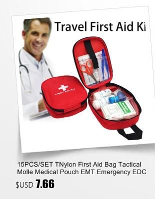 15PCS/SET TNylon First Assist Bag Tactical Molle Medical Pouch EMT Emergency EDC Rip-Away Survival IFAK Utility Automobile First Assist Bag HTB118ehXjbguuRkHFrdq6z