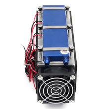 Thermoelectric Peltier Cooler 12V 576W 8-Chip TEC1-12706 DIY Thermoelectric Cooler Refrigeration Air Cooling Device tec1 12740 heatsink thermoelectric cooler peltier cooling plate 338w 62x62mm refrigeration module