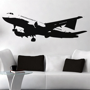 Wall stickers Home Garden Decor Vinyl Removable Art Mural decor Aviation aircraft H-149 - Stickers store