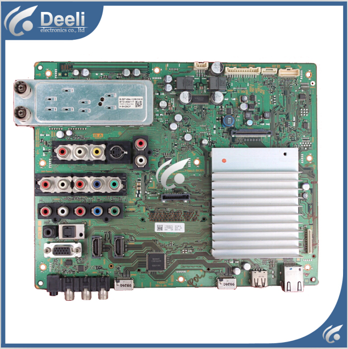 где купить 97% New for Original motherboard KDL-46V5500 1-878-942-12 screen T460HW03 board good working дешево