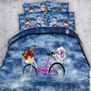 Free Shipping 3d Bike Boat Motorcycle 1 Duvet Cover 2 Pillow Cases Home Textile Twin Full
