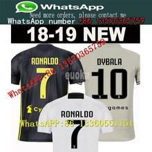 3186280bf 2018 Thai Quality RONALDO JUVENTUS Soccer Jersey Men 18 19 7  JUVE CR7 9  Higuain 10 Dybala Home Away Third Football Shirt unifor
