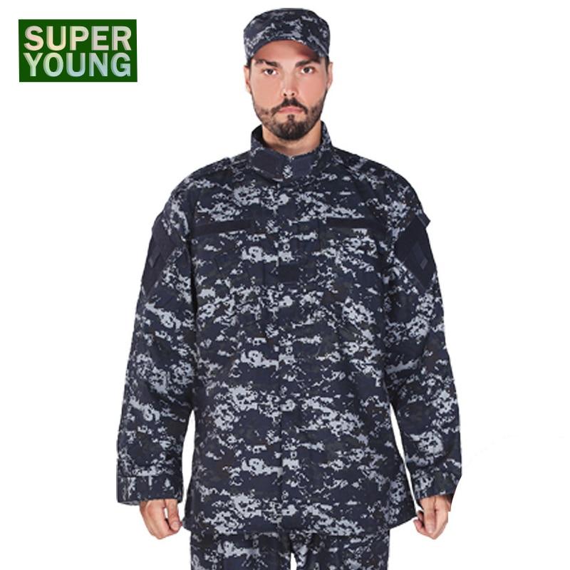 Enfants chasse Camo Camouflage vêtements Costume hommes armée militaire tactique uniforme enfants garçon Jungle Combat armée CS Cosplay Costume