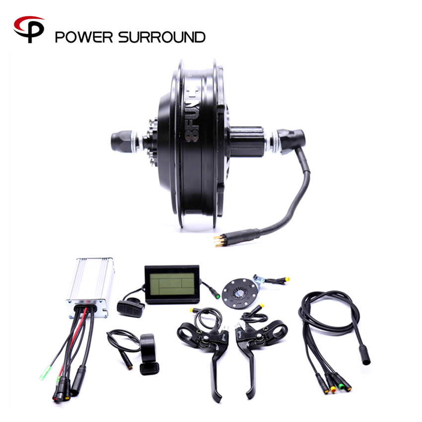 2017 Rushed Waterproof 48v500w Bafang Cst Rear Cassette Electric Bike Conversion Kit Brushless Motor Wheel with EBike system eunorau 48v500w electric bicycle rear cassette hub motor 20 26 28 rim wheel ebike motor conversion kit