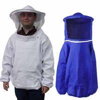 Camouflage Beekeeping Jacket Protective Smock Bee Coat Suit Clothes