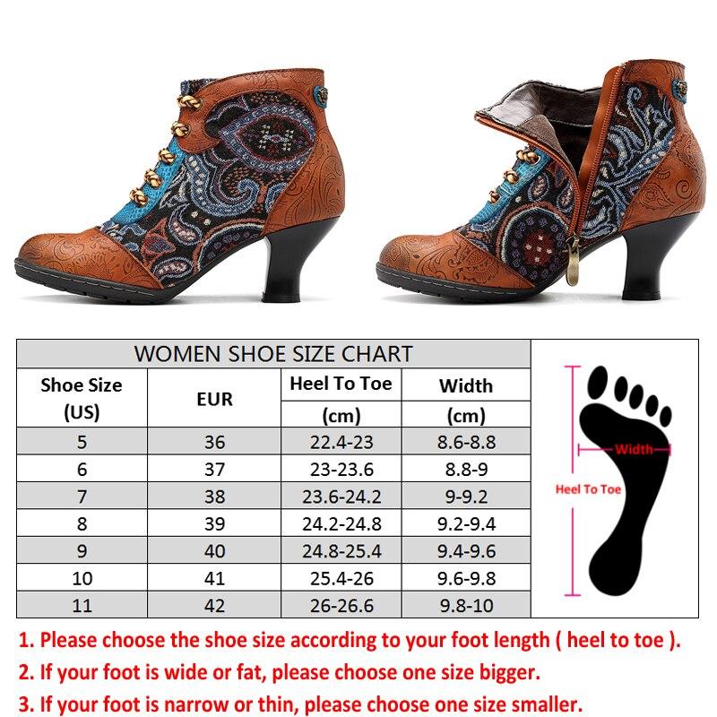 Echtem Heels Stiefeletten Für Camel Frauen Vintage Spleißen 2018 Schuhe Botas Frau Herbst Leder Mujer Winter Stiefel Retro Socofy q7ROnqE