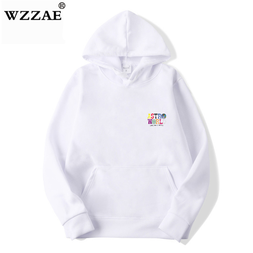 Fashion Letter ASTROWORLD HOODIE street wear Man woman Pullover Sweatshirt 58