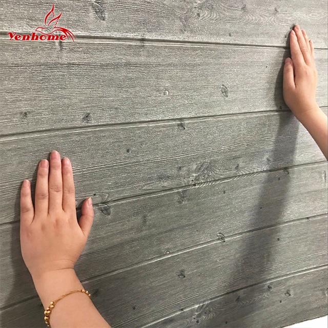 3D деревянные стены стикеры домашний декор ПЭ пены водонепроницаемое покрытие для стен самоклеющиеся обои для Гостиная Спальня 3D панель