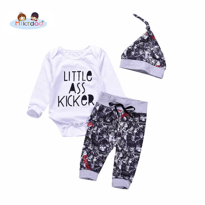 13af0d86c Detail Feedback Questions about Mikrdoo 3pcs Fashion Baby Clothes ...