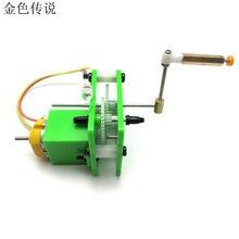 F17913 рук коленчатого генератор S1 окружающей среды Технология Двигатель 3 В, для DIY автомобилей/модель/умный робот/рук коленчатого генератор