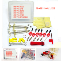 Bicycle Hydraulic Disc Brake Bleed Kit Tool For AVID ELIXIR JUICY CODE Formula HYGIA USAGI HAYES