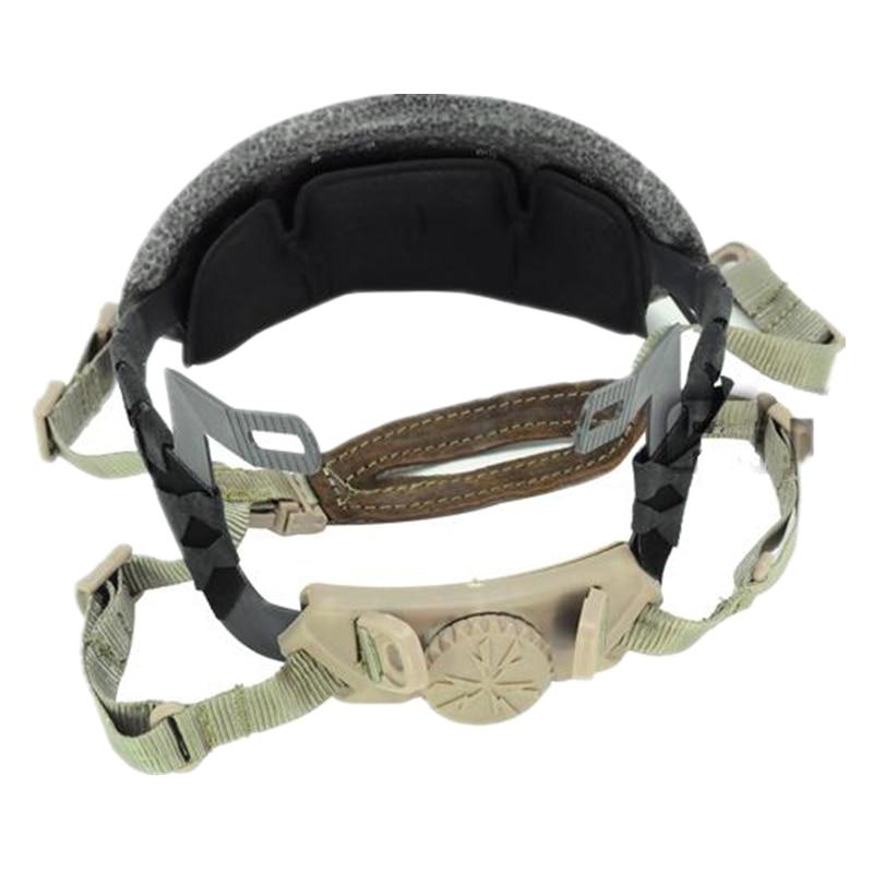 Helmet Parts ACH Occ-Dial Liner Kit FOR ALL HELMET Size Adjustment Black TAN