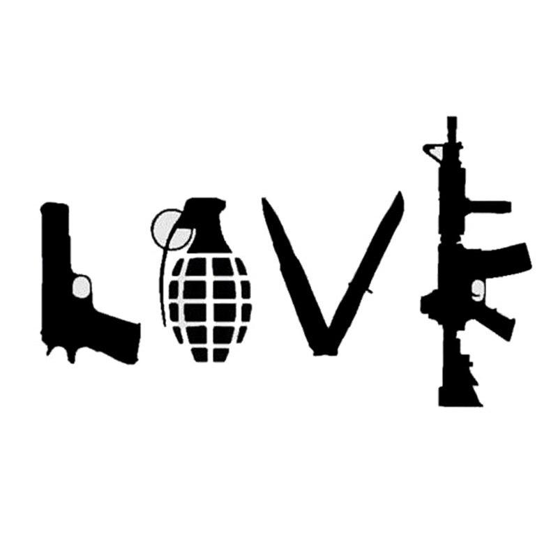 HotMeiNi 18*10.6CM LOVE Field Shooting Military Supplies
