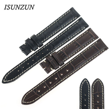 ISUNZUN Womens Watch Band For Longines L2 Genuine leather original Strapps Brand Leather Watchband Women