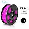 SUNLU PLA плюс нити 1,75 мм 1 кг 3d принтер принадлежности Обновление версии PLA материалы для 3d-печати хорошая прочность
