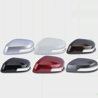 For Honda City 2009 2014 1PC Car Side Door Rearview Mirror Protect Frame Cover Trim Replacement Case Shell Car Styling
