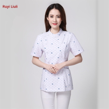 Medical clothing white tops medical coat dental lab doctor uniform women male Pharmacies work clothes-ALX