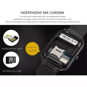 Image 5 - Z60 Bluetooth Smart Watch Phone Men Women Support 2G SIM TF Card Camera for Android Iphone Huawei Xiaomi Smartwatchs PK GT08 X6