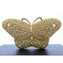 2016 Women Fashion Ladies Luxurious Rhinestone  High Quality Package Clutch Handbag Evening Party Bag Purse