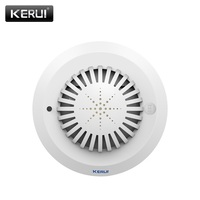 2017 NEW KR SD03 High Sensitivity Smoke Fire Detector Sensor Can Linkage With All Kerui Home