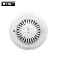2017 NEW KR SD03 High Sensitivity Smoke Fire Detector Sensor Can Linkage With All Kerui Home