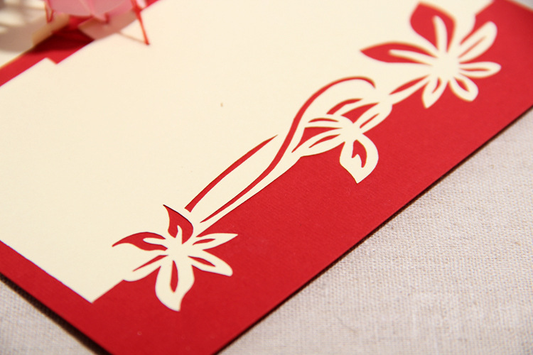 laser cut christmas love greetings messages 2014 3d wedding greeting