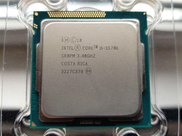 Intel Core i5 3570K 3.4GHz 6MB 5.0GT/s SR0PM LGA1155 CPU Processor