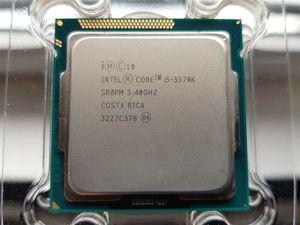 Image 1 - Intel Core i5 3570K 3.4GHz 6MB 5.0GT/s SR0PM LGA1155 CPU İşlemci