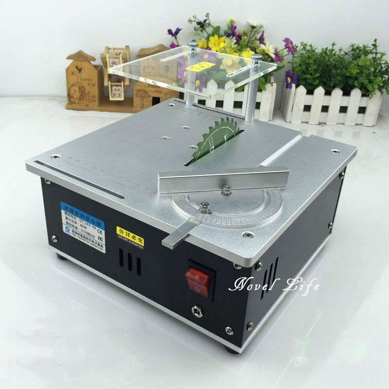 Buy Mini Table Saw Handmade Woodworking Bench Lathe Diy Model Cutting Saw