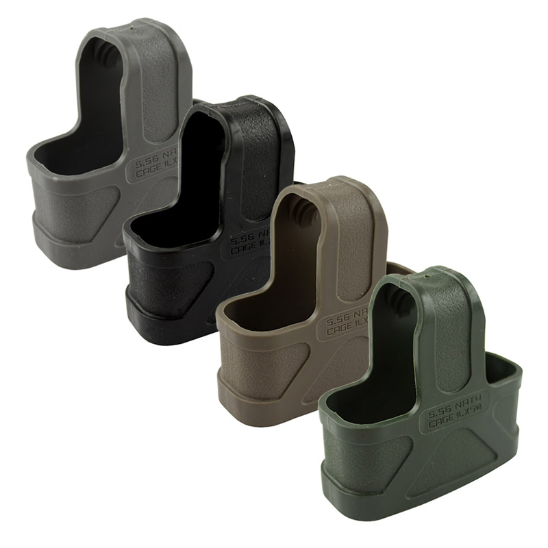 10pcs/NATO 5.56 Rubber Cage Loops Fast Mag For M4/M16 Magazine Assist BK/DE/Green/Gary-Free Shipping