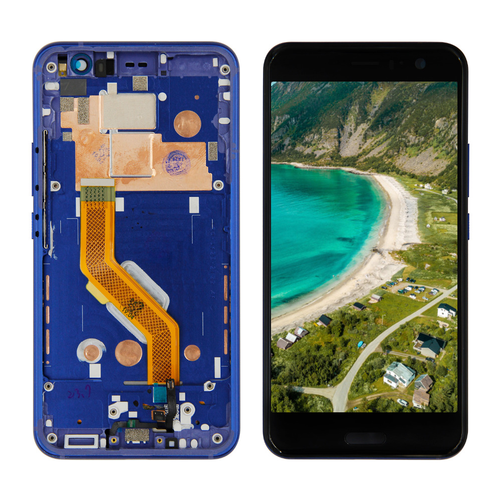 5.5 LCD For HTC U11 LCD Display Touch Screen Panel Glass Digitizer Assembly with Frame + Free Tools5.5 LCD For HTC U11 LCD Display Touch Screen Panel Glass Digitizer Assembly with Frame + Free Tools