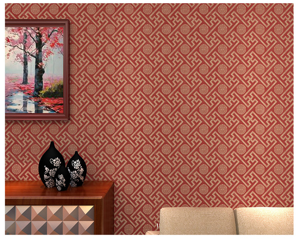 beibehang Fashion decorative painting three dimensional bedroom living room interior non woven classic papel de parede wallpaper in Wallpapers from Home Improvement