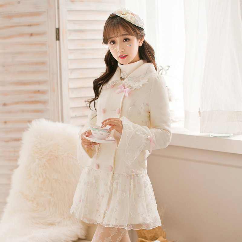 Online Buy Wholesale ladies white coat from China ladies white
