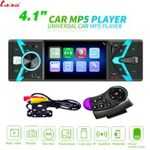 "LaBo Autoradio 1din Radio de coche 4,1 ""HD Autoradio Multimedia Player 1DIN Auto audio estéreo de coche MP5 Bluetooth USB TF cámara FM(China)"