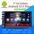 Car DVD Player GPS 1028*600 Tela de Toque Capacitivo HD rádio Estéreo 8G/16G iNAND Câmera de Visão Traseira de Estacionamento Android 5.1.1