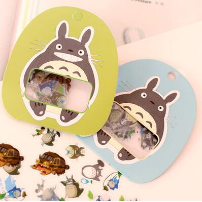 Cute My Neighbor Totoro Decorative Sticker Set Diary Album Label Sticker DIY Scrapbooking Stationery Stickers Escolar